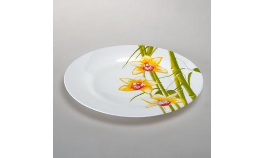 БАМБУК Тарелка обеденная 25 см