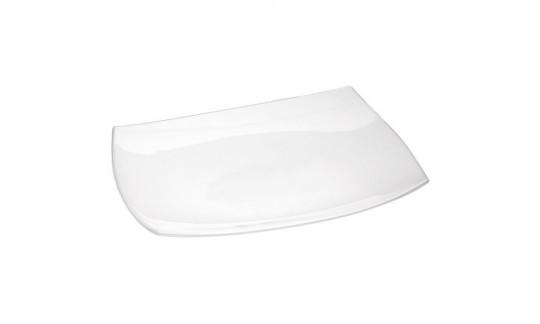 QADRATO Блюдо прямоугольное белое 35*26