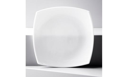 QUADRATO белый Тарелка десерт. 19см