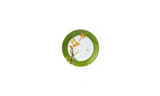 PARADISE BIRD Тарелка обеденная 24 см