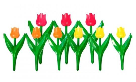 """Ограждение """"Цветы"""" (450х300)(6 шт.)(уп.5 комп.)"""
