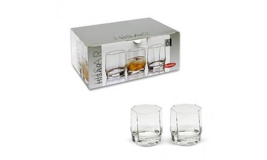 ХИСАР Н-р 6 стаканов д/виски 210сс